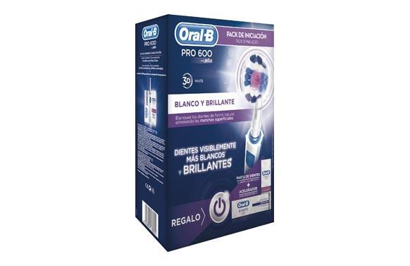 CEPILLO DENTAL ORAL-B PRO600 PACK WOW