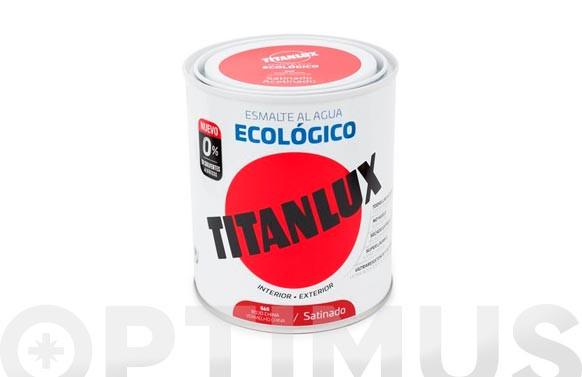 ESMALTE AL AGUA SATINADO 750 ML TABACO