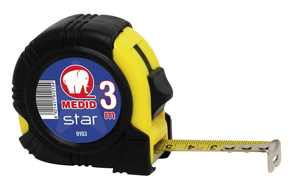 FLEXOMETRO BIMATERIAL STAR B 3X16 MM
