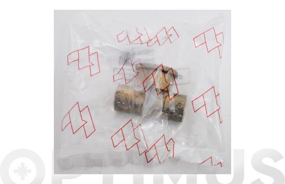 """T MIXTA HEMBRA COBRE 130G 12 MM X 1/2\"""""""