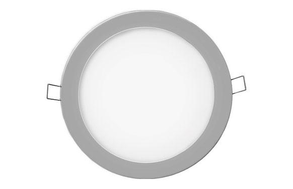 DOWNLIGHT LED DE EMPOTRAR Ø20CM 1500LM CROMADO 20W 6400K