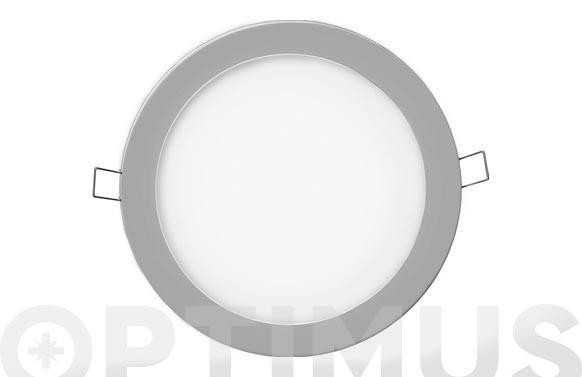 DOWNLIGHT LED DE EMPOTRAR Ø20CM 1500LM CROMADO 20W 4000K
