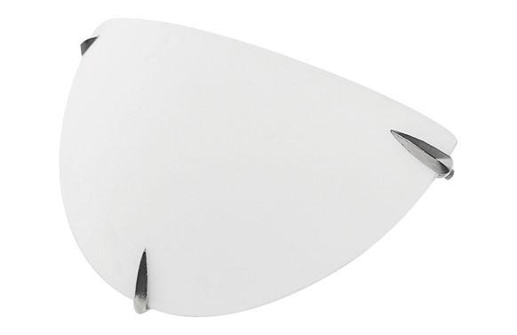 PLAFON CRISTAL Ø30X18X8 CM E27 2 X 60W