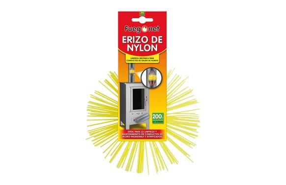 ERIZO RECAMBIO KIT DESHOLLINADOR NYLON 200MM