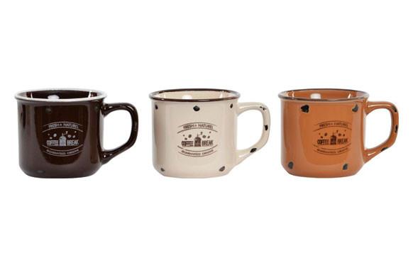 MUG GRES COFFEE 160 MLSURTIDOS