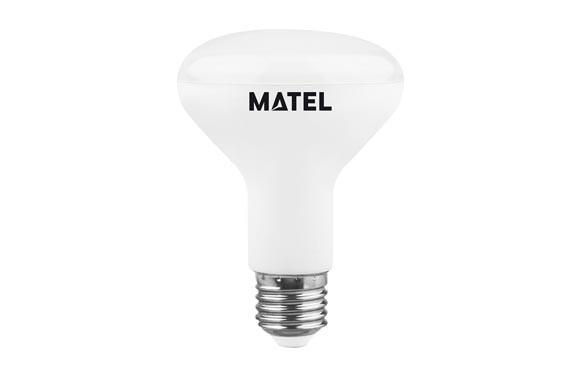 BOMBILLA LED REFLECTORA 63 MM E27 8 W .800 LM FRIA