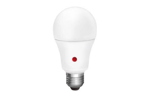 LAMPARA ESTANDAR LED CON SENSOR MOVIMIENTOE27 10 W LUZ FRIA