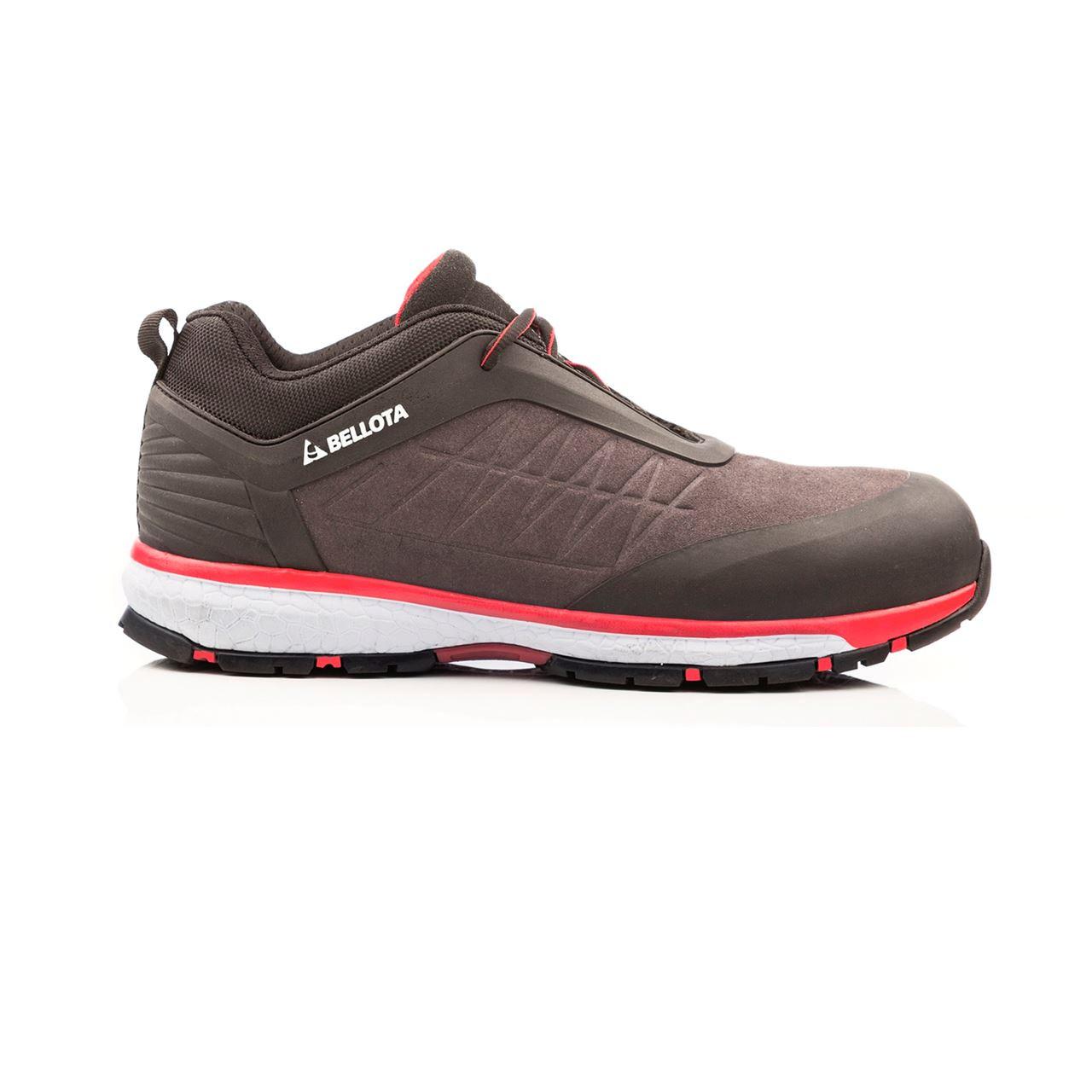 Zapatos seguridad negro run S3N bellota