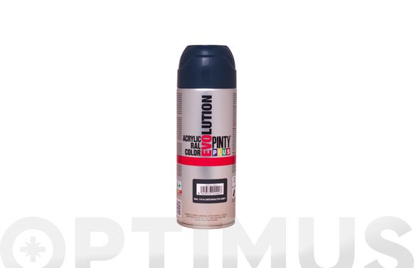 PINTURA SPRAY ACRILICA BRILLO 520 CCRAL 7016 GRIS