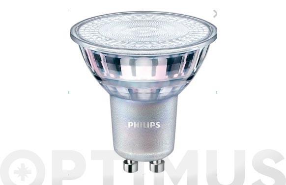 LAMPARA DICROICA LED REGULABLE 36º CRISTALGU10 7W LUZ CALIDA
