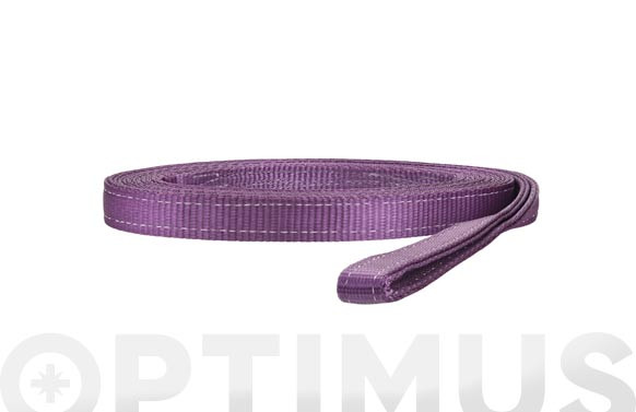 ESLINGA PLANA DOBLE 1 TN30 MM/3 M VIOLETA