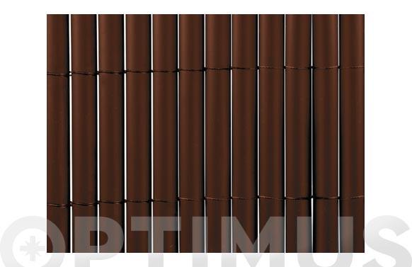 CAÑIZO SINTETICO PVC PLASTICANE OVAL 2 X 3 CHOCOLATE