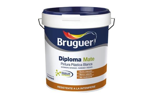 PINTURA PLASTICA EXTERIOR DIPLOMA15L BLANCO MATE