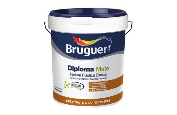 PINTURA PLASTICA EXTERIOR DIPLOMA4L BLANCO MATE