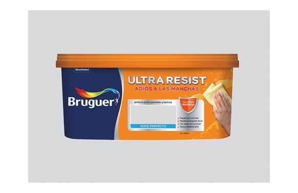 PINTURA PLASTICA INTERIOR ULTRARESIST4L GRIS CLASICO