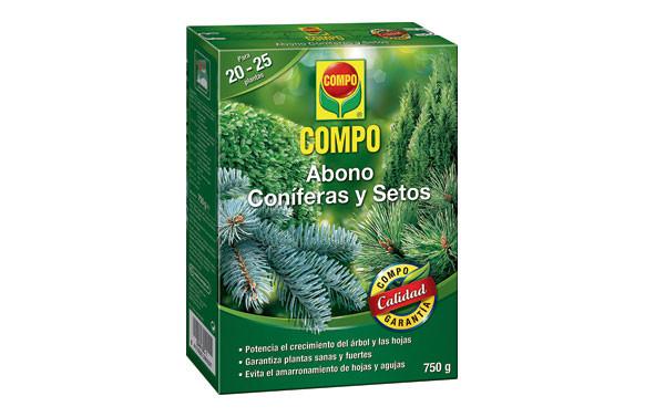 ABONO CONIFERAS Y SETOS750 GR