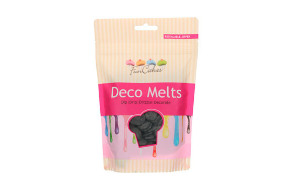 DECO MELT DERRETIBLE SABOR CHOCOLATE 250 GRNEGRO