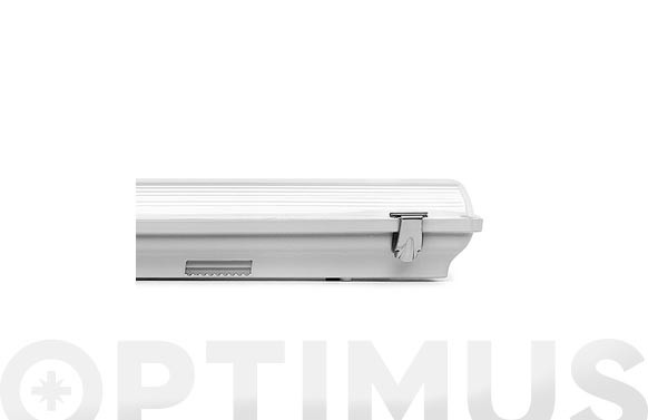 PANTALLA LED 2TUBOS LED IP6518W 120CM
