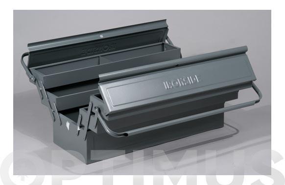 CAJA HERRAMEINTAS METAL 560 X 220 X 220CON 5 COMPARTIMENTOS