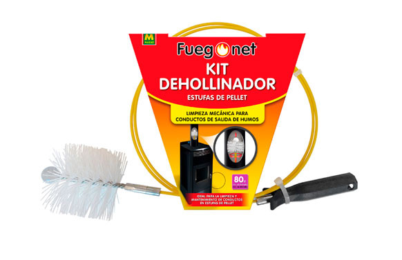 DESHOLLINADOR ESTUFAS PELLETKIT 80 MM