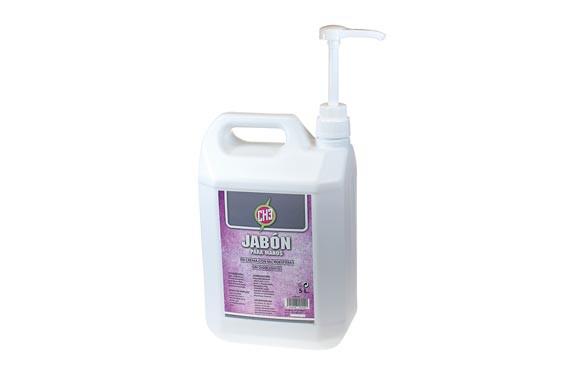 JABON PARA MANOS CREMA CON MICROESFERAS5 L CON DOSIFICADOR