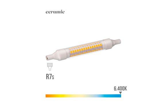 LAMPARA  LINEAL LED 360ºR7S 118 MM 9 W LUZ FRIA