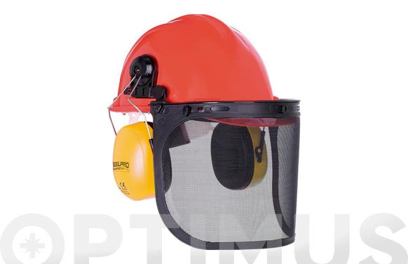 CASCO FORESTAL KIT COMPLETOCASCO, VISOR Y OREJERA