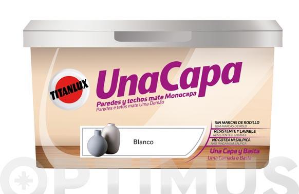 PINTURA PLASTICA MATE UNA CAPAGRIS VINTAGE 4 L