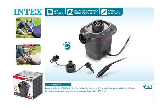 INFLADOR ELECTRICO QUICK FILL 12V