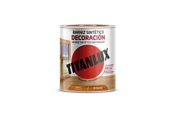 BARNIZ TINTE BRILLO PARA MADERA250 ML ROBLE