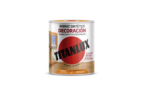 BARNIZ TINTE BRILLO PARA MADERA750 ML CEREZO
