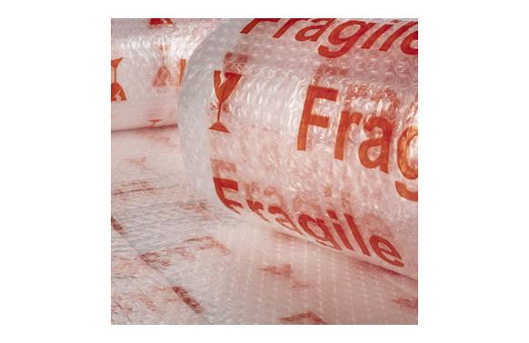 "PLASTICO DE BURBUJA 40 GR/M2 \""FRAGIL\"" 0,6 X 5 M"