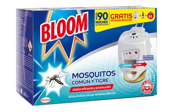 BLOOM ELÉCTRICO MOSQUITOS COMÚN Y TIGRE 2 RECAMBIOS INCLUIDOS