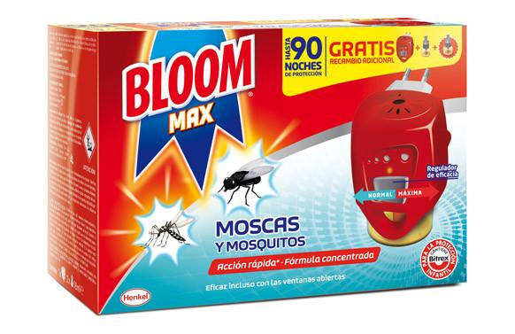 BLOOM ELÉCTRICO MOSCAS Y MOSQUITOS 2 RECAMBIOS INCLUIDOS