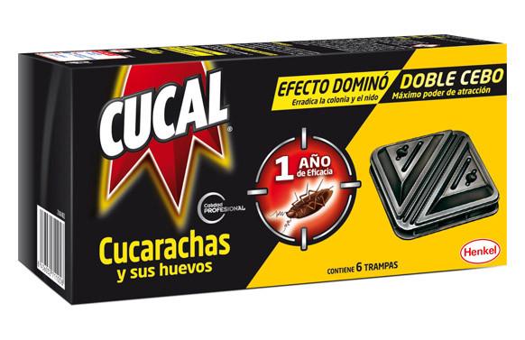 CUCAL TRAMPA DOBLE CONTRA CUCARACHAS Y SUS HUEVOS