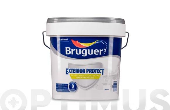 REVESTIMIENTO EXTERIOR PROTECT LISO 4 L BLANCO