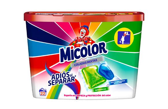 DETERGENTE MICOLOR ADIOS SEPARAR 22 CAPSULAS