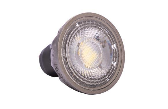 LAMPARA LED EVO DICROICA GU10 8W 3000K 690LM GRIS