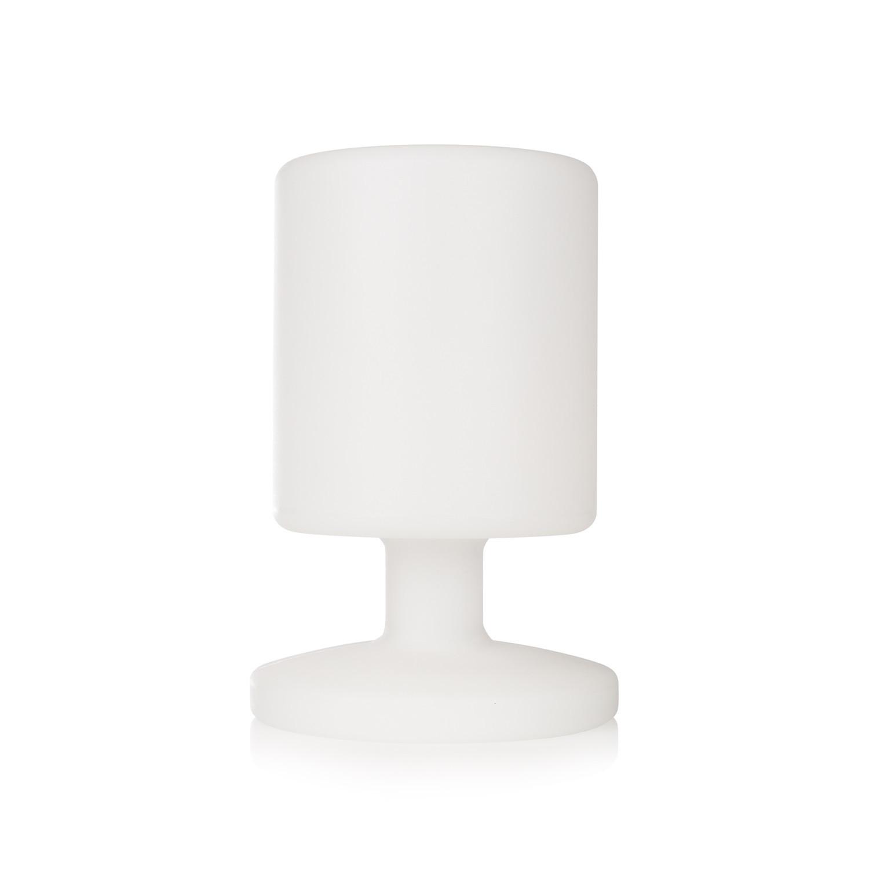 LAMPARA SOBREMESA LED RECARGABLE BLANCA 5 W