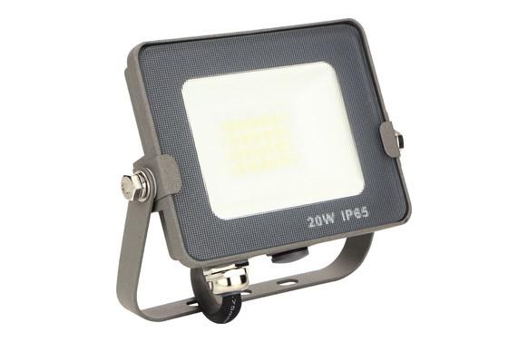 FOCO PROYECTOR LED GRAFITO 20 W 1600 LM 5700 K IP65
