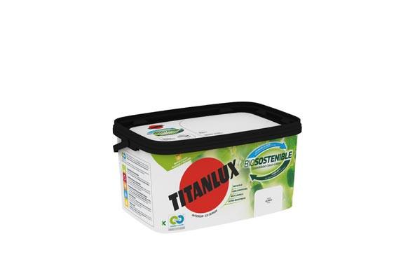 PINTURA PLASTICA INT-EXT. BIOSOSTENIBLE 4 L BLANCO MATE