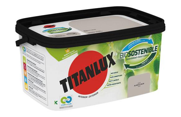 PINTURA PLASTICA INT-EXT. BIOSOSTENIBLE 4 L BLANCO LUMINOSO