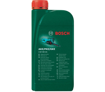aceite biodegradable para engrasar las motosierras