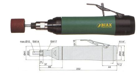 AMOLADORA BIAX SRH 10-15/2 Y SRH 10-12/2