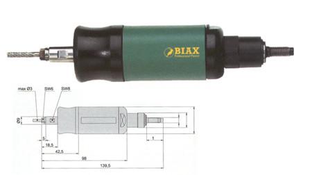 Amoladora neumatica recta biax tvd 3-100/2
