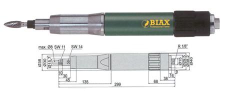 Amoladora neumatica Biax  sbrd 830 y sbrh 830
