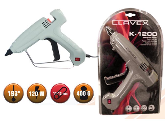 Pistola de cola caliente k1200