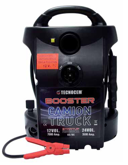 Arrancador Booster para coche y camion 3224