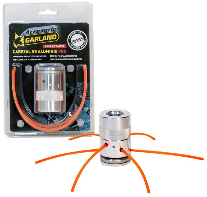 Cabezal de hilo para desbrozadoras 6 hilos en aluminio. Universal