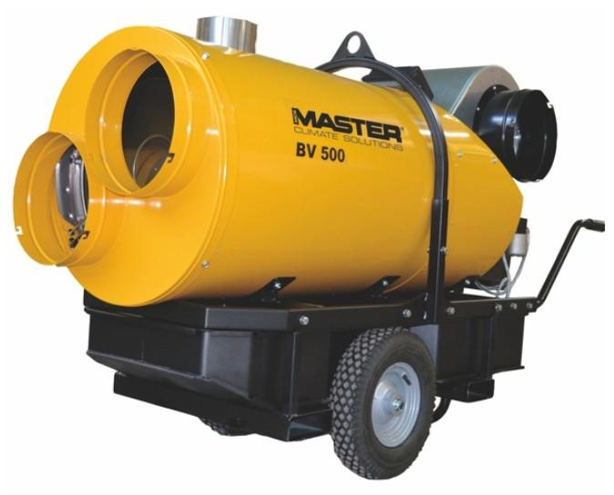 Master BV 500 13 cr cañón de calor a gasoil